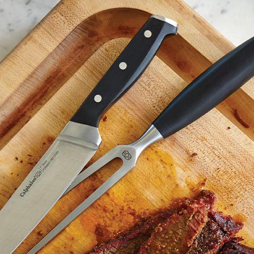 stainless steel knife & fork